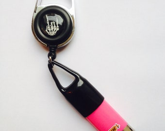 Porte briquet retractable - Retractable Lighter Leash
