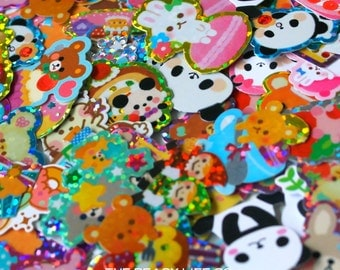 20 Kawaii Japanese Sticker Flakes