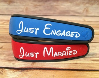 Disney Engagement/Marriage Celebration Magic Band Decal