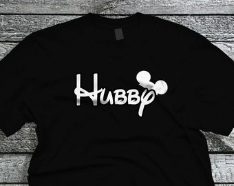 Disney Hubby T-Shirt ~ Alstyle Tee ~ Classic Tee ~ Disney Hubby ~ Disney Groom ~ Disney Wedding