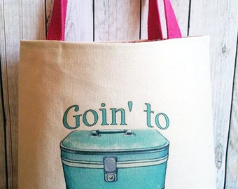 Going to Mimi's ,Going to Grandma's ,Girls travel bag
