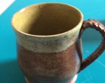 Set of two Mocco Shino Pottery Mugs