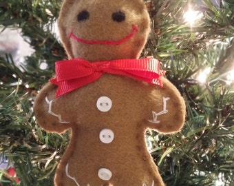 Christmas ornament Gingerbread (m03)