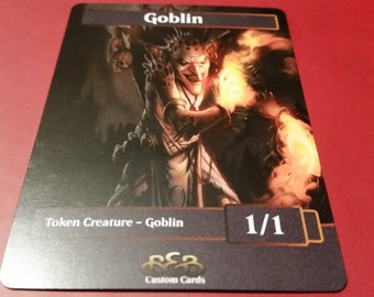 3 X Goblin Token Version 2.0 MTG