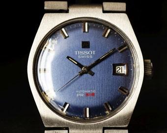 Men's vintage Tissot Automatic PR516 Swiss watch 21 Jewels 1960's watch Retro men's watch Dress watch Gift for him