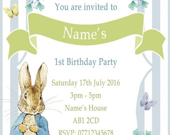 Peter Rabbit Party Etsy