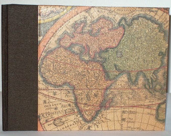 World map photo album
