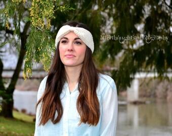 Crochet Turban Headband / Earwarmer