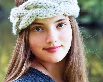 Knitting Pattern - Braided Headband // Young, Wild and Free