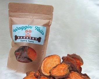 Sam's Yams  (Sweet Potato and Yam Chews)