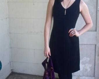Early 90's City Triangles USA-made Black Dress