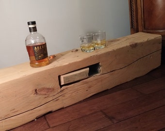 Reclaimed barn wood beam