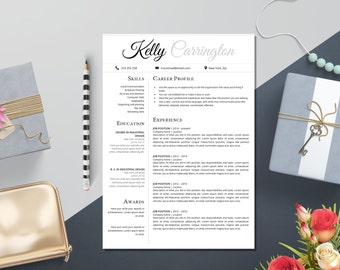 Awesome Design Elegant Resume