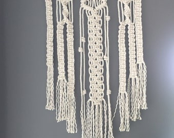 """Intricately Knotted Macrame Wall Art, """"Serenity"""""""