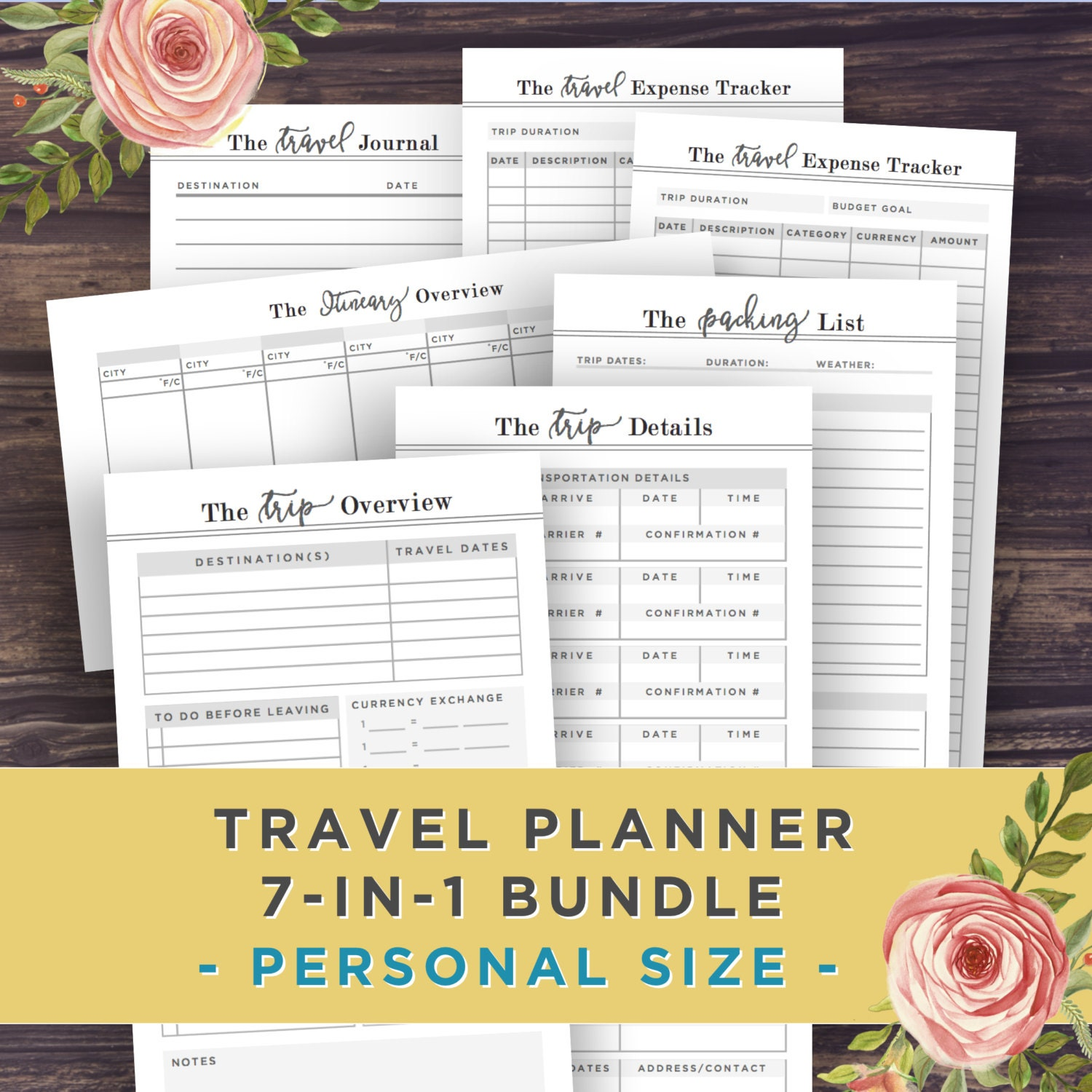 personal trip planner