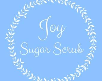 Pure Joy Sugar Scrub
