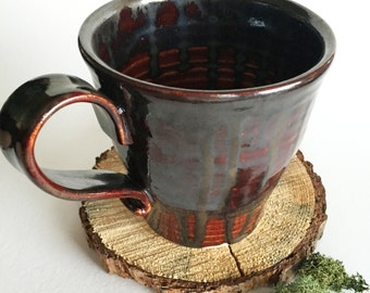 Metallic Lava Mug