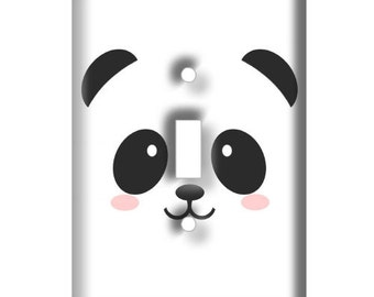 Cute Panda  Decorative Light Switch Cover - Decorative Switch Plate Cover