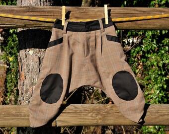 Pantaloni unisex bambina bambino boy girl harem pants