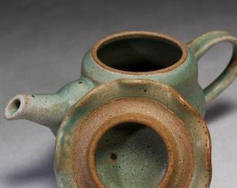 20 oz Handmade ceramic teapot
