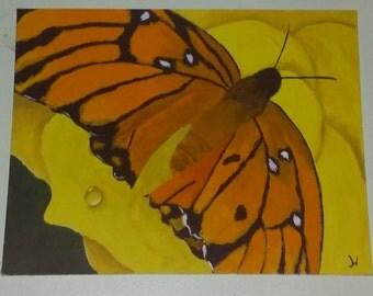 Acrylic Monarch