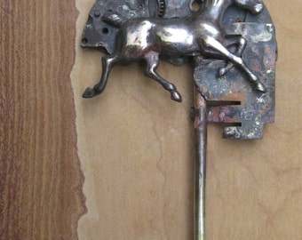 Horse Time Hair Pin