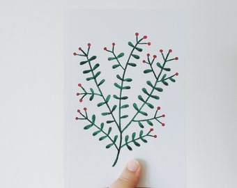 SALE // Mistletoe Notebook