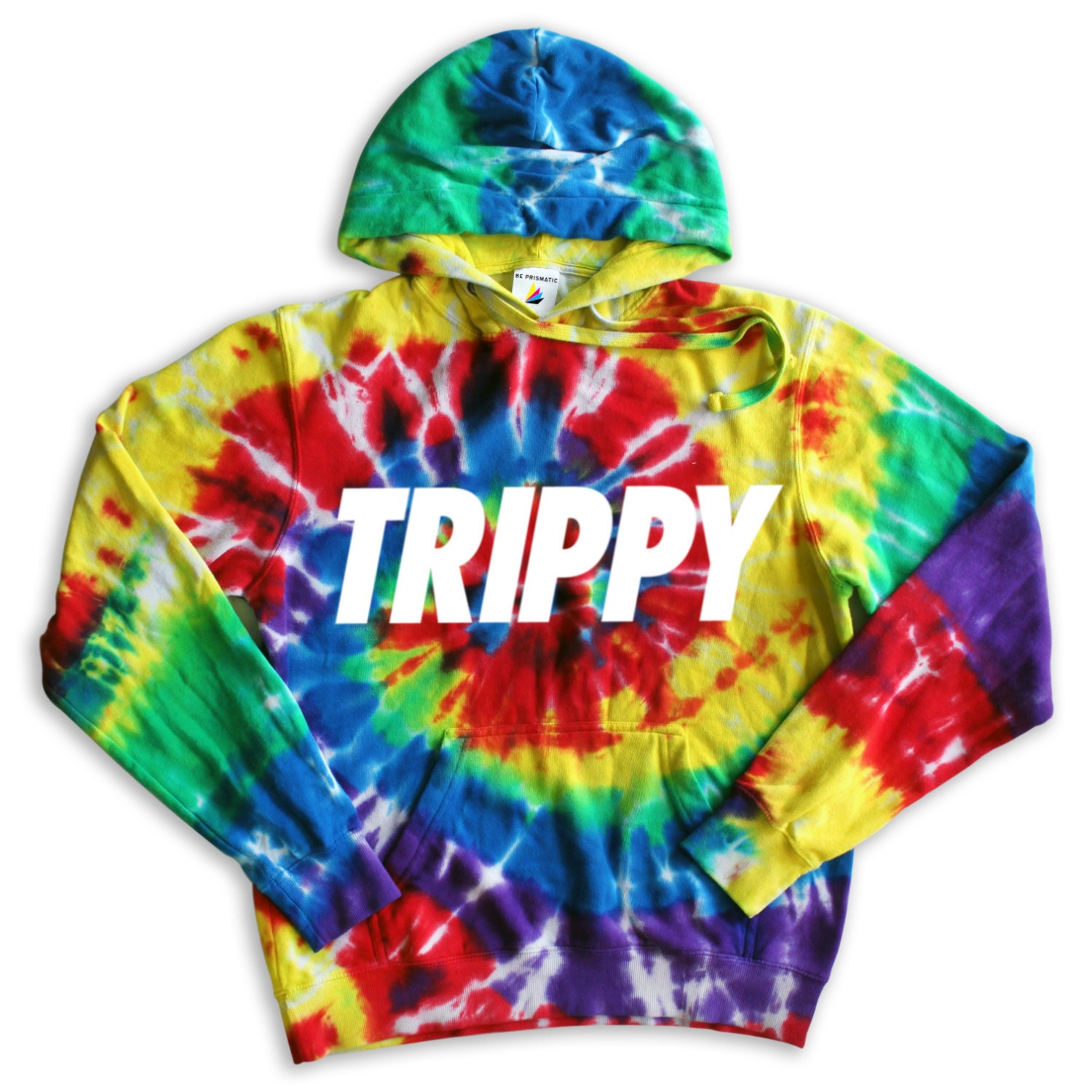 trippy tie dye hoodie tumblr inspired hipster music festival. Black Bedroom Furniture Sets. Home Design Ideas