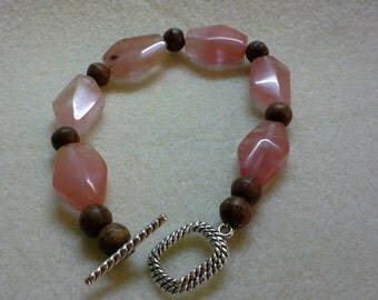 Cherry Glass Bracelet