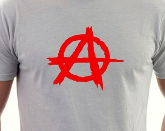 Anarchy printed T-shirt