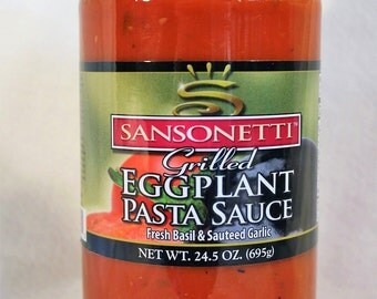 Grilled Eggplant Pasta Sauce