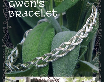 Gwen's Celtic Braid Bracelet Tutorial