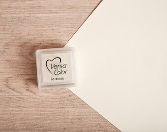 White - Rubber Stamp Mini Ink Pad