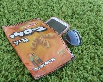 Lovely and fun case, made of famous Israeli snack bag (Bisli) - Handbag