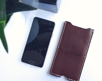 Leather Phone case, BROWN  |  Iphone 6 case |  Iphone 6s  |  Samsung A3 & A5