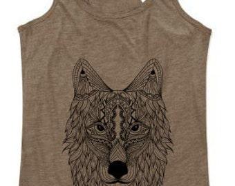 Longshoreman Wolf mandala Brown Fleck
