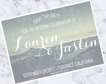 Rustic Wedding Save the Date Download