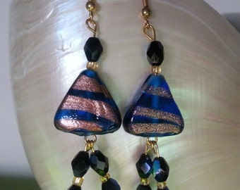 "Earrings ""Venice"" in Murano glass"