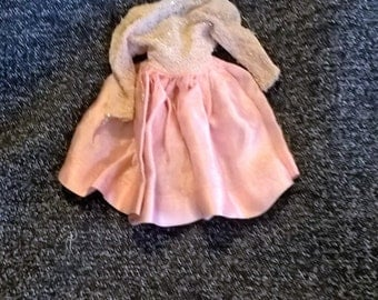 Tressy fancy dress Pink Champagne, 1963, American Character