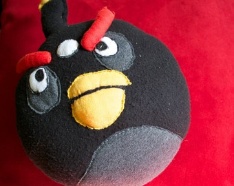 Angry Birds Homemade Plush Bomb