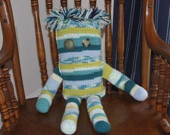Crochet Doll, Stuffed Toy, Stuffed Doll, Crochet Toy, Doll, Toy