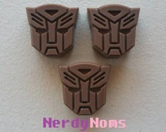 Chocolate Autobot Logos