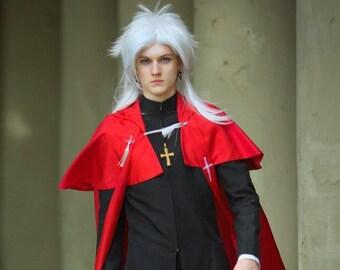Shirou Kotomine Fate Apocrypha Priest Cosplay