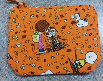 Fall Charlie Brown Bag