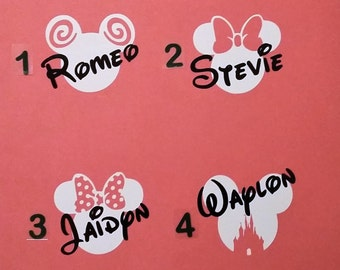 Disney's Mickey & Minnie Mouse Decals