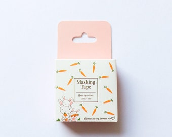 Carrots Washi Tape (15mm X 10m)