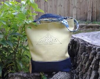 Celtic Yoga Hand Bag