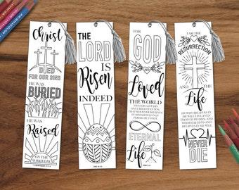 religious bookmark templates - bible printables by yikkatyyak on etsy