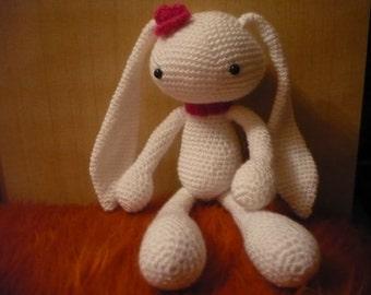 Bunny, Crochet Bunny Toy, Amigurumi Bunny, Stuffed toys, Amgurumi animals, Crochet toy. Baby toy, Stuffed Rabbit, Handmade Bunny
