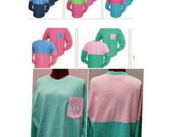 Spirti type shirt, oversized shirt, monogrammed shirt. personalized shirt, embriodered shirt, preppy shirt, gifts for her, comfy shirts